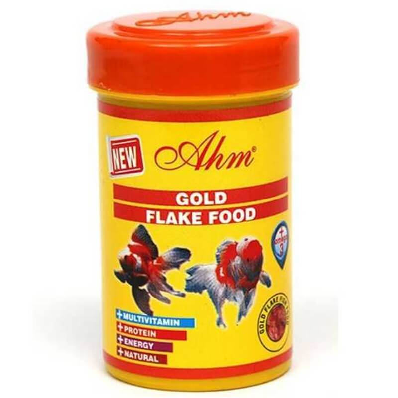 Ahm Marin Gold Flake Food Japon Balığı Yemi 100 Ml