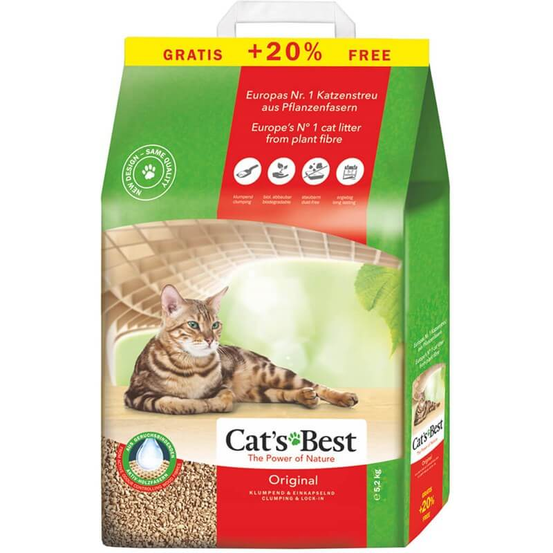 Cats Best Original Kedi Kumu 10+2 L (5,2 KG)