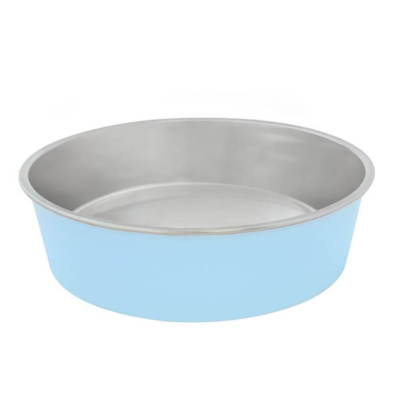 Duvo+ Feeding Bowl Matte Mama Ve Su Kabı 450ml Blue