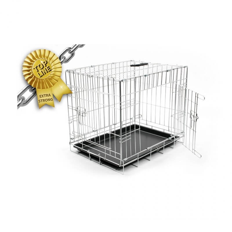 Duvo+ Topline Dog Crate Chrome Köpek Kafesi 92 cm