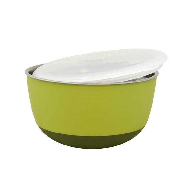 Duvo+ With Lid Bowl Mama Ve Su Kabı 1600ml Green