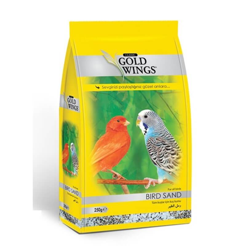 Gold Wings Kuş Kumu 250 Gr