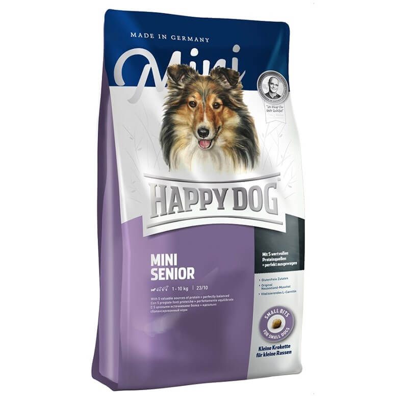 Happy Dog Fit & Well Yaşlı Mini Köpek Maması 4 Kg