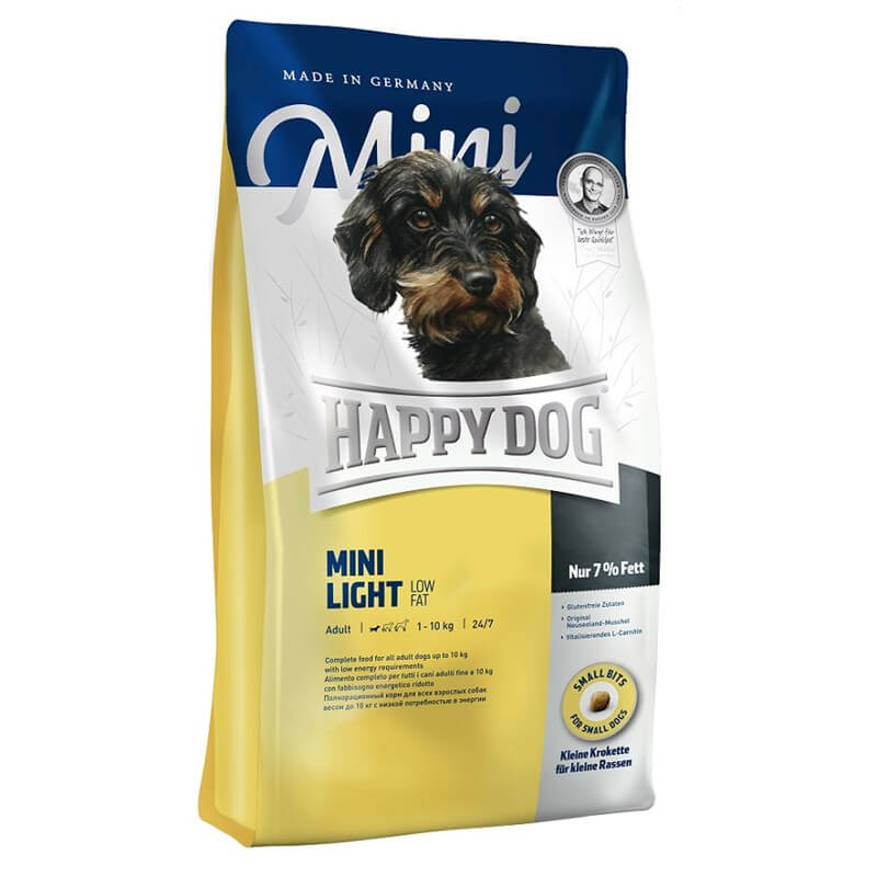 Happy Dog Mini Light Küçük Irk Köpek Maması 4 Kg