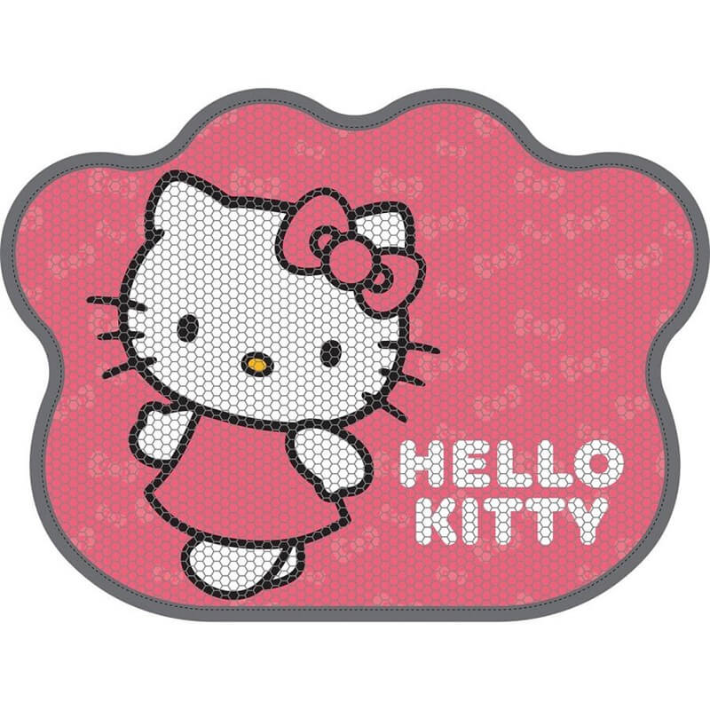 Hello Kitty Patili Pembe Kedi Paspası