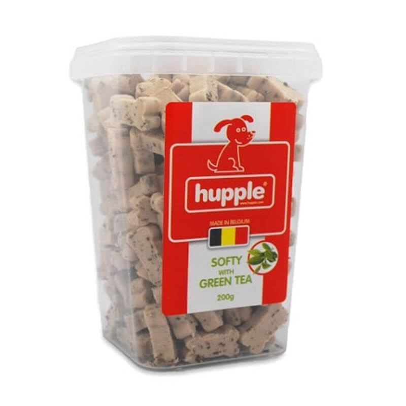 Hupple Soft Green Tea Köpek Bisküvisi 200 Gr