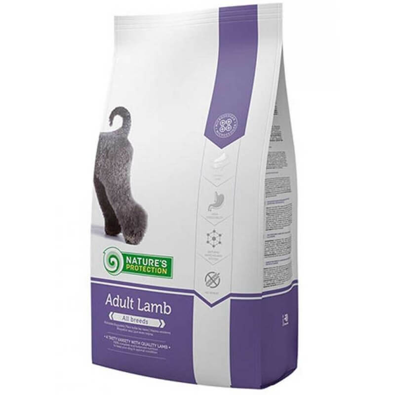 Nature's Protection Adult Lamb Kuzulu Köpek Maması 12 kg