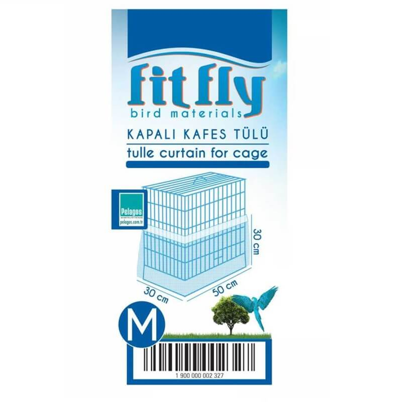 Fit Fly Altı Kapalı Kafes Tülü Medium 50x30x25 Cm