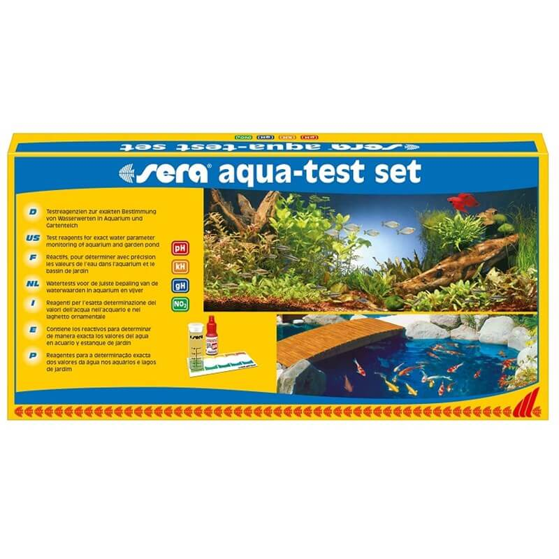 Sera Aqua Test Set Akvaryum Test Seti