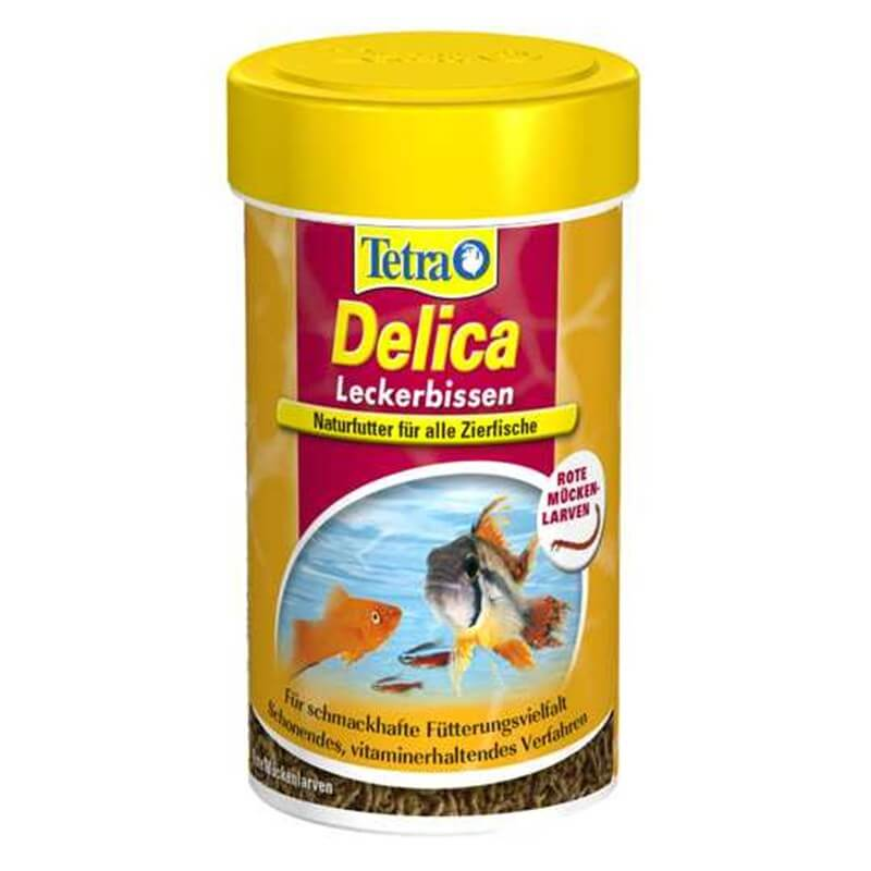 Tetra Delica BloodWorms Ödül Yemi 8g / 100ml