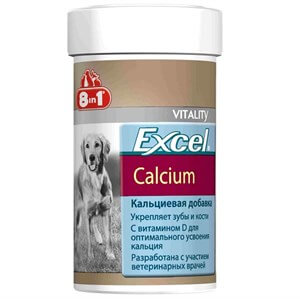 8in1 Excel Calcium Köpek Kalsiyum Tableti 70 Tb
