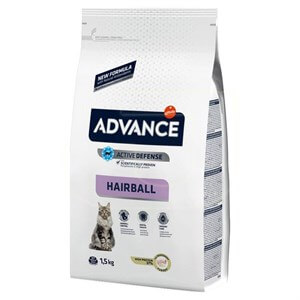 Advance Cat Hairball Hindili Kedi Maması 1,5 Kg