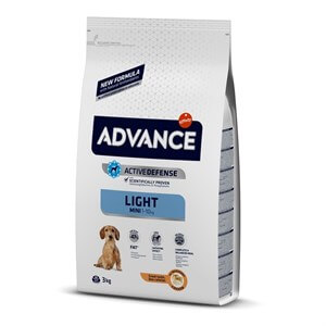 Advance Dog Mini Light Kilolu Köpek Maması 3 Kg