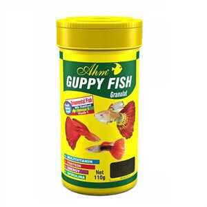 Ahm Marin Guppy Granul Food Lepistes Yemi 250 Ml