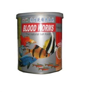 Aim Blood Worms Freeze Dried Naturel Kan Kurdu 55 Gr