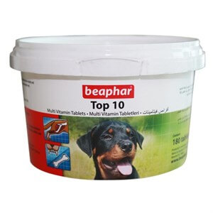 Beaphar Top 10 Dog Multivitamin 180 tablet