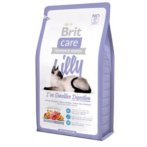 Brit Care Lilly  Sensitive Kuzu ve Somonlu Tahılsız Kedi Maması 7 Kg