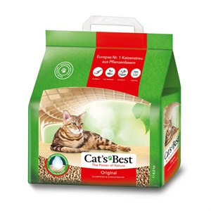Cats Best Orjinal Clumping Cat Litter Kedi Kumu 5 lt - 2,10 KG