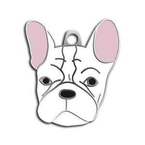 Dalis Pet Tag French Bulldog Köpek Künyesi