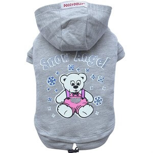 Doggy Dolly Snow Angel Kapşonlu Köpek Sweatshirt Small