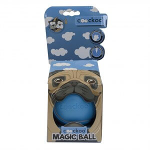 Duvo+ Coockoo Magic Ball Köpek Oyuncağı Ø 8,6cm Blue