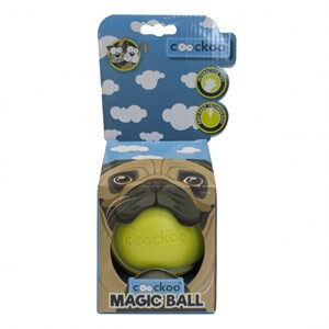Duvo+ Coockoo Magic Ball Köpek Oyuncağı Ø 8,6cm Lime