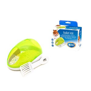 Duvo+ Hamster Potty Kit Hamster Tuvaleti
