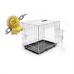Duvo+ Topline Dog Crate Chrome Köpek Kafesi 123cm