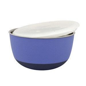 Duvo+ With Lid Bowl Mama Ve Su Kabı 700ml Purple
