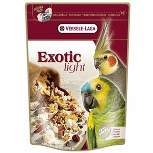 Exotic Light Paraket ve Papağan Yemi 750 Gr