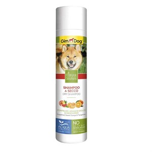GimDog Natural Solutions Kuru Köpek Şampuanı 250ml