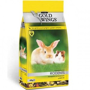 Gold Wings Classic Rodents Komple Kemirgen Yemi 500 Gr