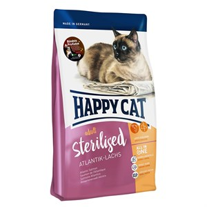 Happy Cat Sterilised Atlantic Lach Kısır Kedi Maması 10 Kg