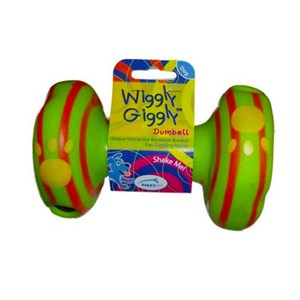 Happy Pet WG55567 Wiggly Giggly Dumbell 15 Cm