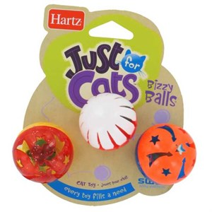 Hartz Just For Cats Bizzy Balls Kedi Oyun Topları