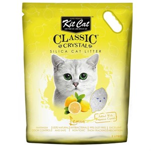 Kit Cat Limon Kokulu Silika kedi kumu 5 Lt