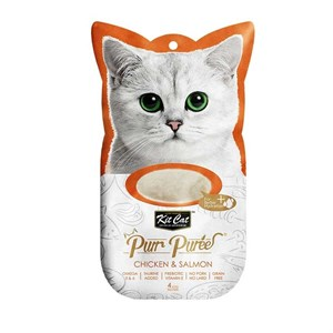 Kit Cat Purr Puree Chicken & Salmon Kedi Ödülü