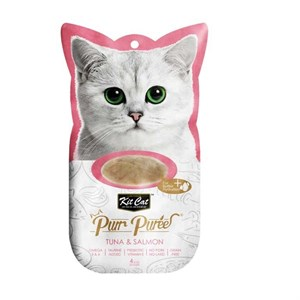 Kit Cat Purr Puree Tuna & Salmon Kedi Ödülü