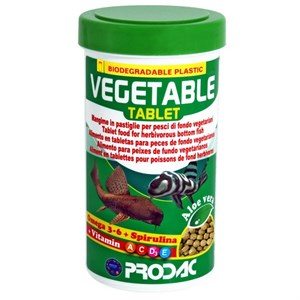 Prodac Vegetable Tablet 250 Ml Balık Yemi