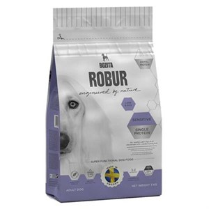 Bozita Robur Sensitive Single Protein Kuzulu Köpek Maması 12,5 kg