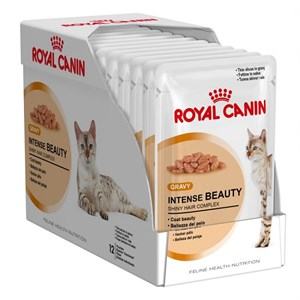 Royal Canin İntense Beauty  Soslu Kedi Konservesi  85 Gr 12 Al 10 Öde