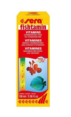 Sera Fishtamin Balık Vitamini 100 Ml