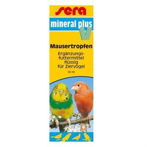 Sera Mineral Plus V Kuş Vitamini 50 Ml