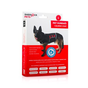 Sherlock Pets Pet Kundağı Medium GRİ