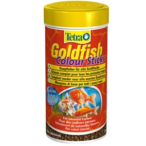 Tetra GoldFish Colour Sticks Balık Yemi 100 Ml / 30Gr